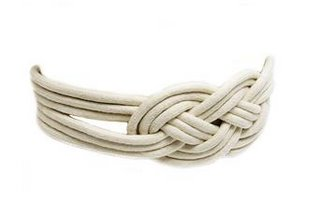 Knotted belt