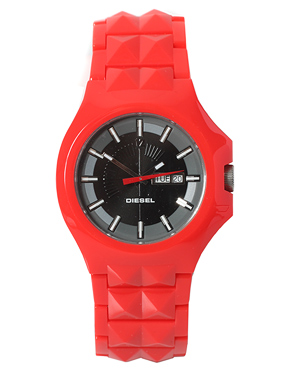 diesel red watch